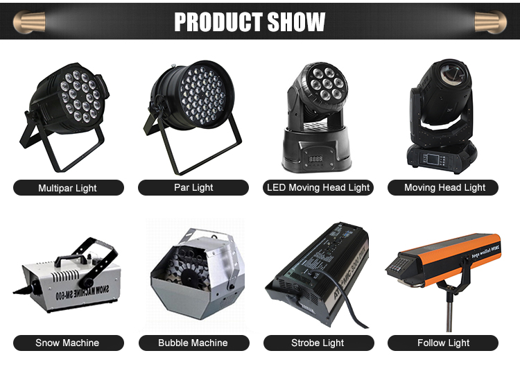 DMX512 stage LED moving light 60W