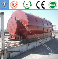 Xinda Green oil machinery,used tyre to oil retreading plant,waste plastic pyrolysis oil refining system CAP-50MT