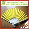 Most Popular Promotional Plastic Hand Paper Fan