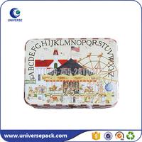 Rectangular mini cigar tin box wholesale