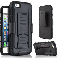 2016 Hot Selling Shengo Case Strong Hybird TPU PC 3 in 1 Combo Cover with Stand,Corporate Gift Item Slim Armor Case for iPhone 6