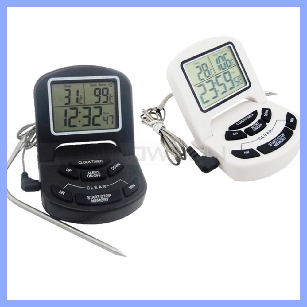Digital Probe Meat Thermometer Kitchen Cooking BBQ Thermometers Household Thermometer