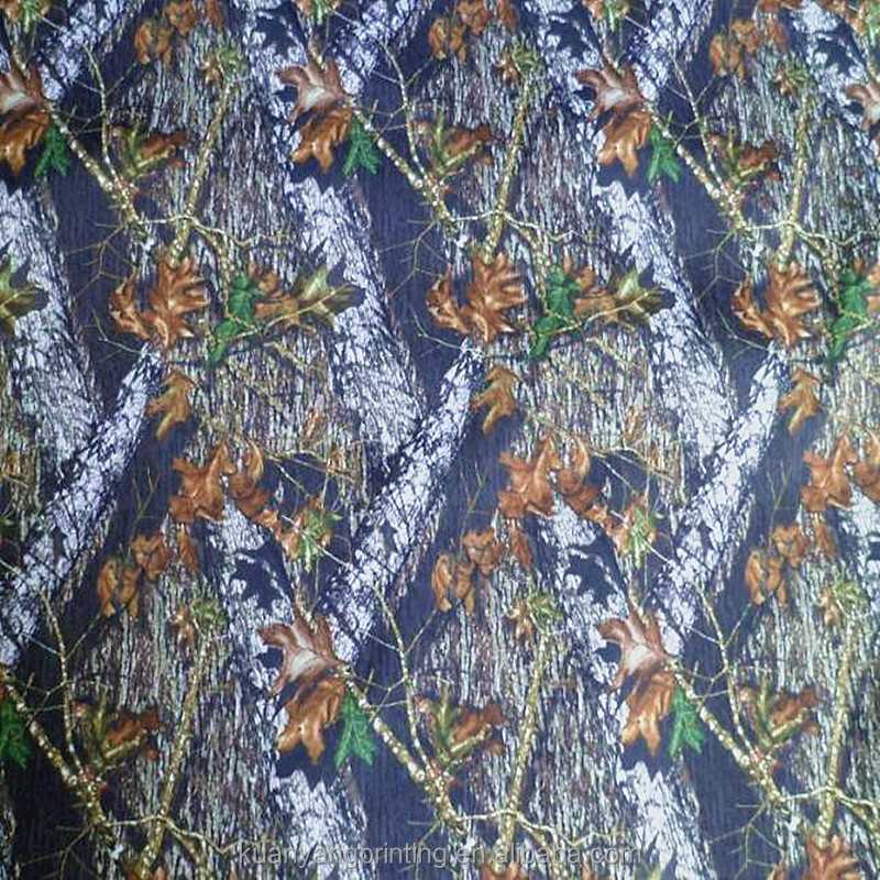 sublimation camo print 100% polyester pvc coated oxford fabric