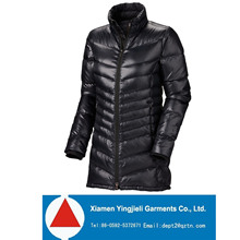 European Style 80/20 Duck Down Ultralight women long down jacket