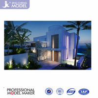 3D rendering luxury modern home plans, 3D architectural and construction interior and exterior rendering