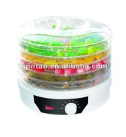 Round Adjustable Food Dehydrator with Removable Trays