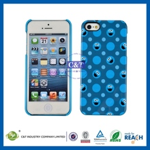 OEM mobile phone protective case glitter pc case for iphone 5