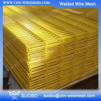 Non Galvanized Welded Wire Mesh PVC Coated 3X3 Galvanized Cattle Welded Wire Mesh Panel