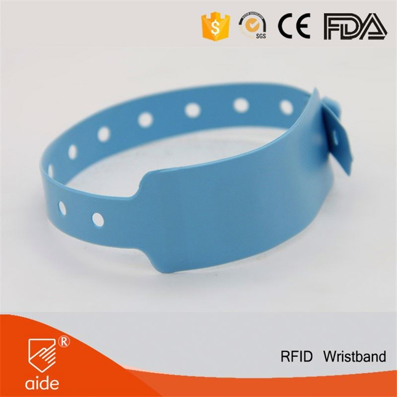 AIDE Hospital Rfid Microchip Wristband Smart Bracelet For Event