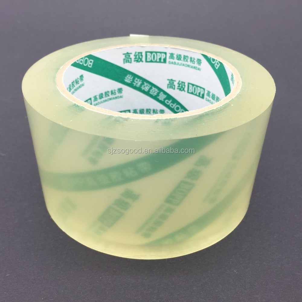 Factory Price High Tack Quality Tape Adhesive BOPP Adhesive Tape Super Clear Tape