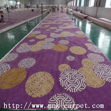 Purple Carpet Commercial Restaurtant Nylon Carpet Wall To Wall