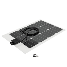 Made in USA high efficiency Sunpower cell 40W Semi flexible solar panel