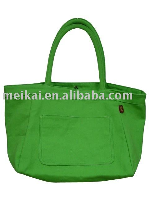 fashion canvas shopping bag