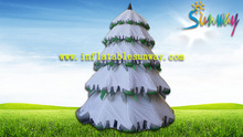 Advertising Holiday Inflatables Christmas Tree , Festival Spruce Tree Decorations