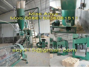 compressed mould wood pallet press machine