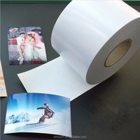 RC glossy photo paper 260gsm for inkjet mini lab printer 0.3m*30m