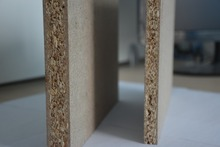 moisture resistant melamine particle board for furniture use
