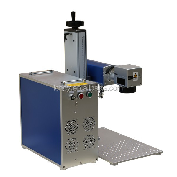 High speed pigeon bird ring fiber laser marking machine for sale