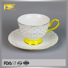 new products home decor tea coffee golf hole cup with saucer