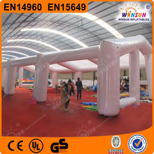 Hot sale inflatable tent for events,Huge inflatable building/Cube inflatable air structure