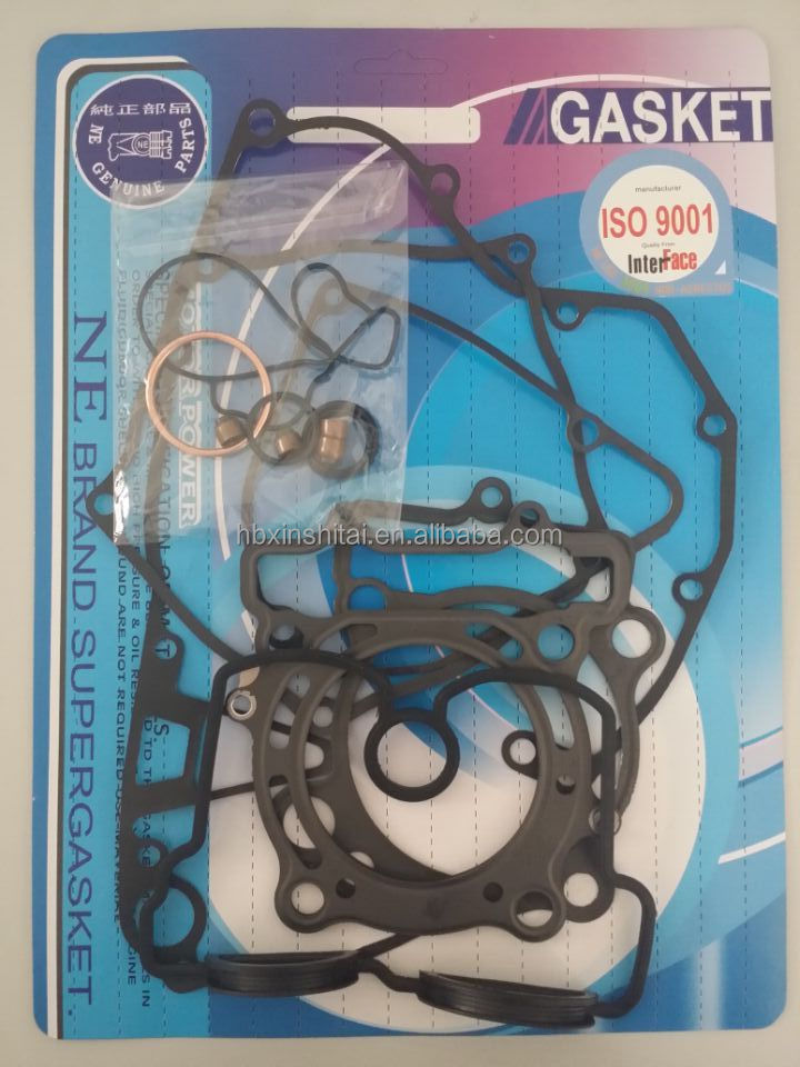 ATV engine spare parts, KXF 250 seal gasket kit