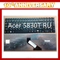 Black RU layout for acer 5830T laptop keyboard in China