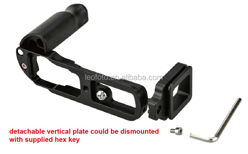 L-Shape Vertical Metal Quick Release Plate Camera Bracket leofoto-Series leofoto-Series LB-EM5 for OLYMPUS EM5