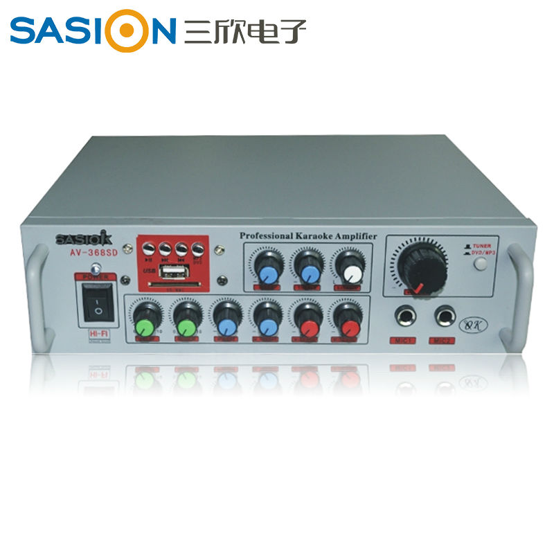 Fans'choice SASION AV-368SD car amplifier with FM Radio