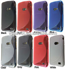 S-Line Soft Gel Skin Wave TPU Case Cover for Samsung Galaxy Beam i8530