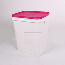 40L 15KGS pet food container with flat lid