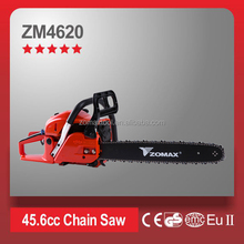 CE GS approved ZM4620 electric start gas chain saw