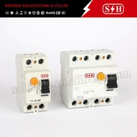 Europe design PFIM PKIM Residual Current Circuit Breaker 2P 4P RCD 30mA RCCB