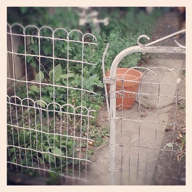 Ornamental galvanized garden woven wire fence buy