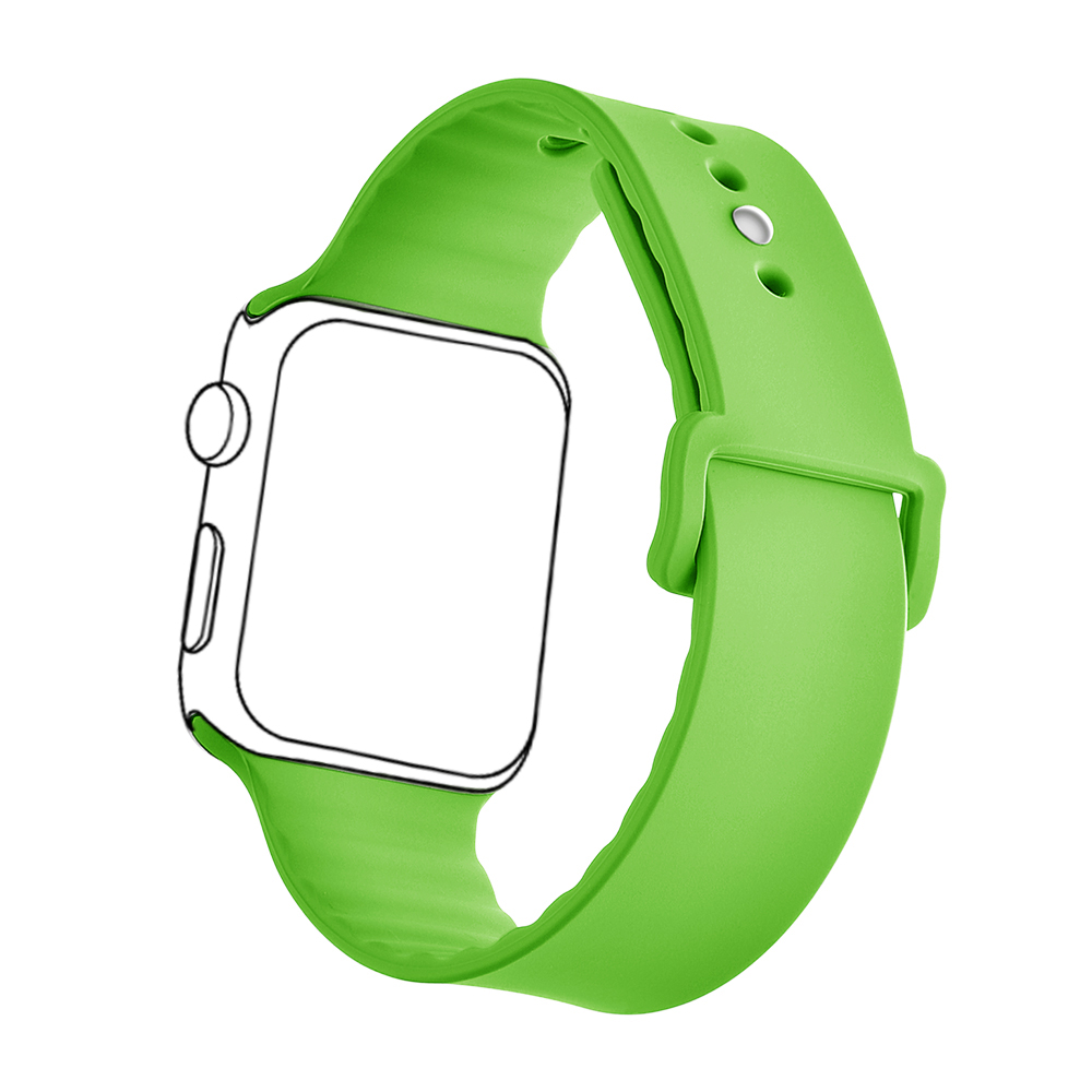 Watchebands High Quality Rubber Wrist Fashional Customized Silicone Watch Strap For Apple Watch