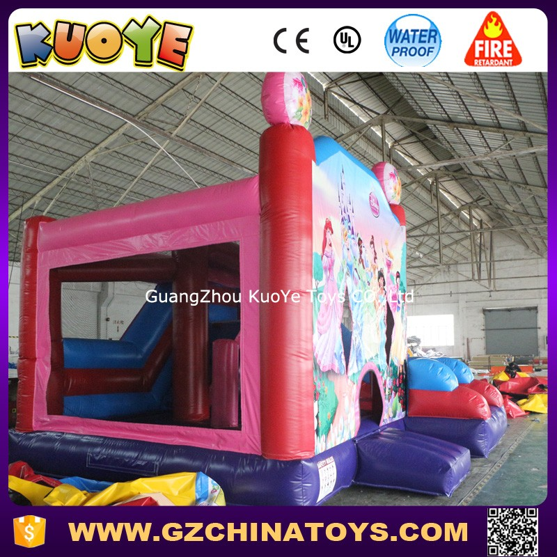 princess bouncy castle for sale Princess inflatable bouncer with slide princess bouncy castle