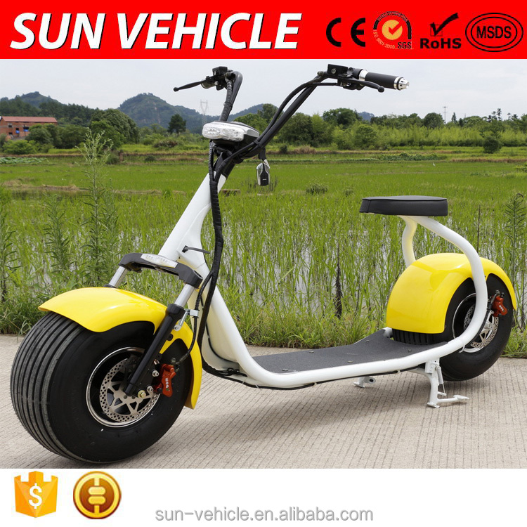 2016 Popular 60V 1000W/72V 1200W Citycoco scooter adults off road electric motorcycle