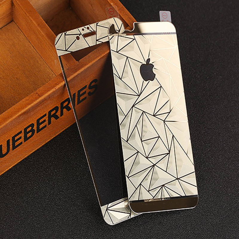 new products color diamond screen protector for iphone 6 tempered glass price