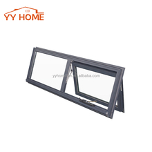 window grill design thermal break double glazed aluminium chain winder window