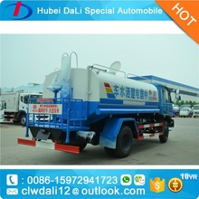 garden sprayer,Low price 10m3 water bowser truck for sale ,water tanker transport truck