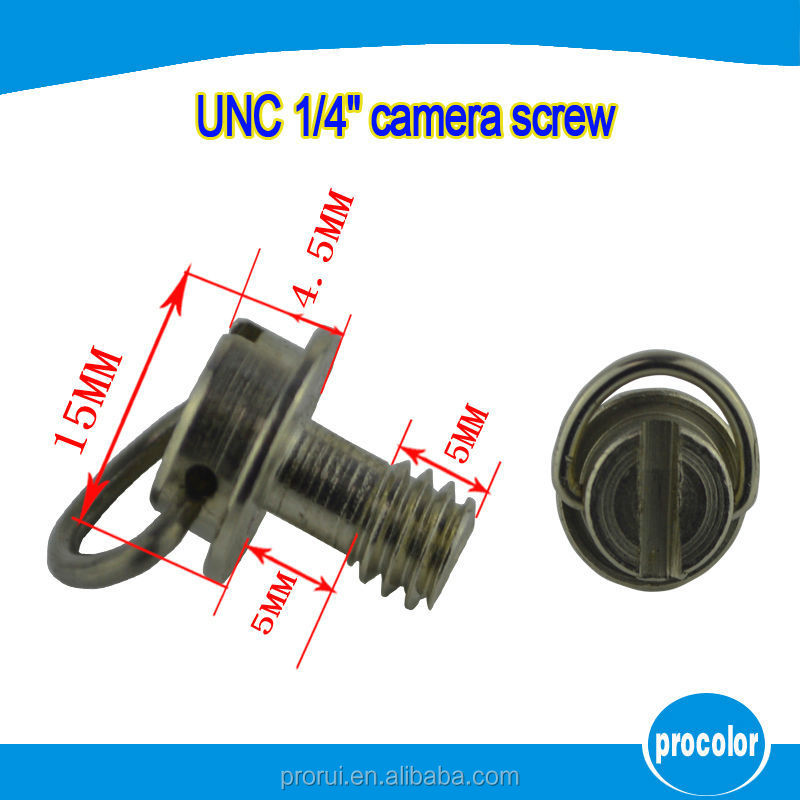 "New 2016 innovative product <strong>c</strong> ring <strong>1</strong>/4"" camera mount screw for camera tripod stand"