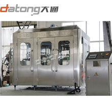Glass bottle filling capping machine for juice drink