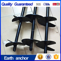 No dig different color earth anchor/ post anchor