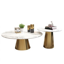 white marble table gold metal table sofa side table coffee desk bedroom night stand modern <strong>furniture</strong>