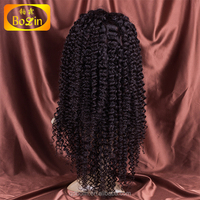 Most popular Indian remy human hair full lace wig