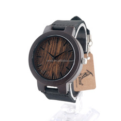 Fashion alibaba express watch vogue high quality men wooden watch