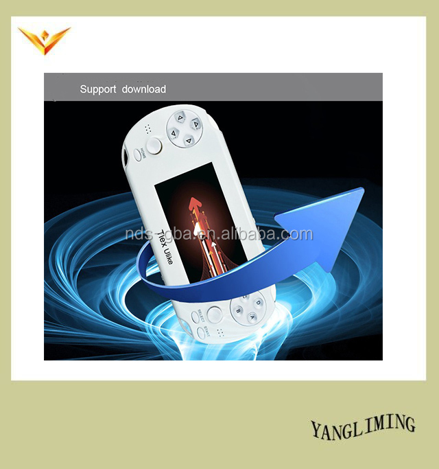 "Android OS 4.1.1 system game console 3.5 "" touch screen support WIFI/SKYPE video game player Tlex Ulike"