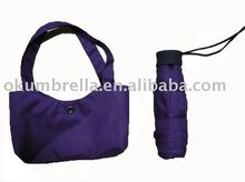 New special 5 folding umbrella with handbag