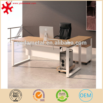 Modern Solid Wood L Shaped Executive Table Office Furniture Desk Buy Office