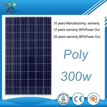 24v solar pv module 300w 310w 320w poly panels with aluminium alloy