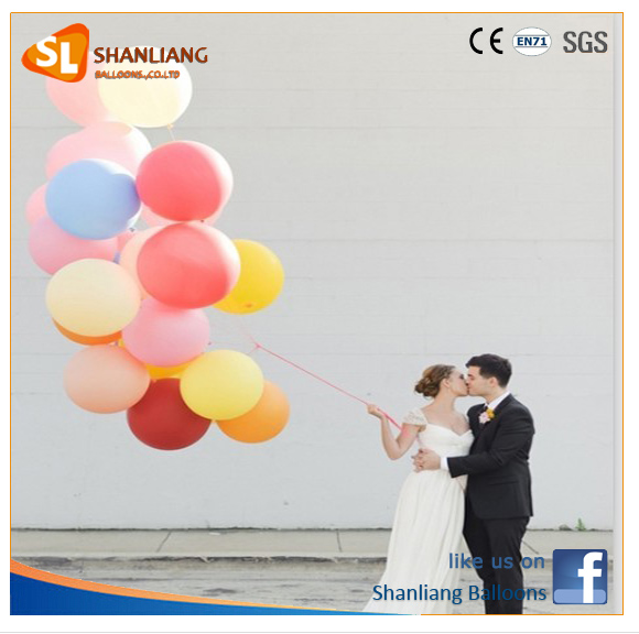 36inch 90cm Gaint Latex Balloon, Big Round 3Ft Factory Balloon